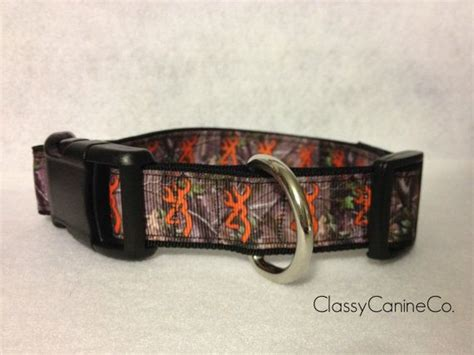 camo puppy collar orange deer camo collar