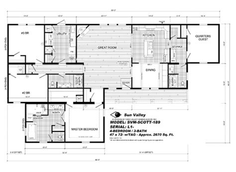 beautiful deer valley mobile home floor plans new home
