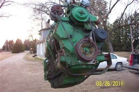 john deere 4020 turbo engine out of a 7700 combine