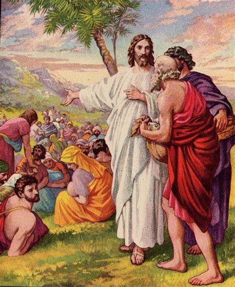 Garden Of Praise by Garden Of Praise Jesus Feeds The Multitude Bible Story