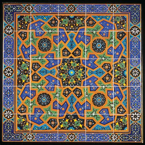 Chinese Design by Persian Tiles Amaco Brent