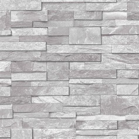 Room Wall Designs by 3d Slate Stone Brick Effect Wallpaper Washable Vinyl