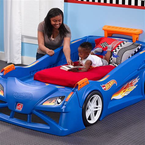 step 2 toddler car bed hot wheels toddler to twin race car bed kids bed step2