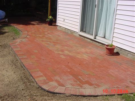 Do It Yourself Paver Patio Brick Paver Patio Search Backyard Pinterest
