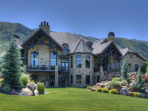 14 700 square foot utah mansion on 26 acres homes of the