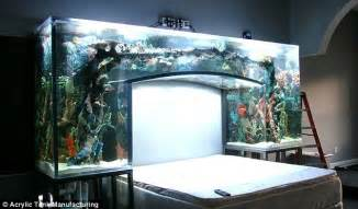 chad ochocinco s headboard is a aquarium pics