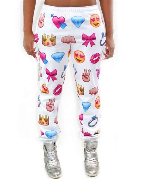 boats and hoes emoji emoji joggers sweatpants jogging pants 7twentyfour