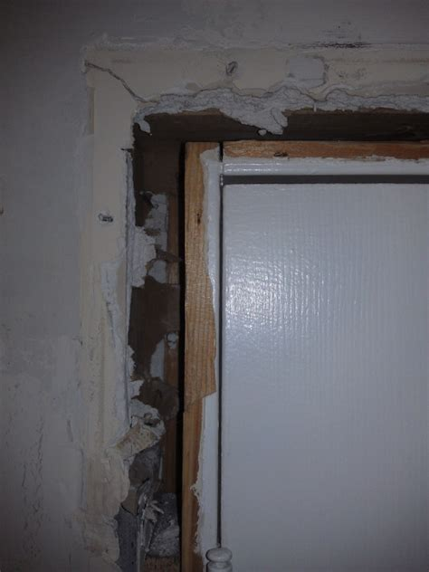 large gap  door frame  jamb carpentry page