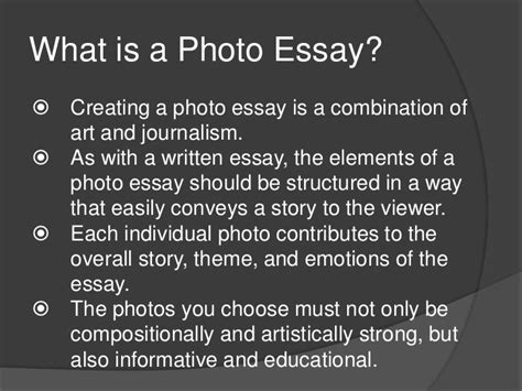 Photography Essay Pdf by Photojournalism Photo Essay Exles Search Educaci 243 N Photo Essay