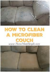 best way to clean a microfiber sofa 1000 images about home maid simple on pinterest maids