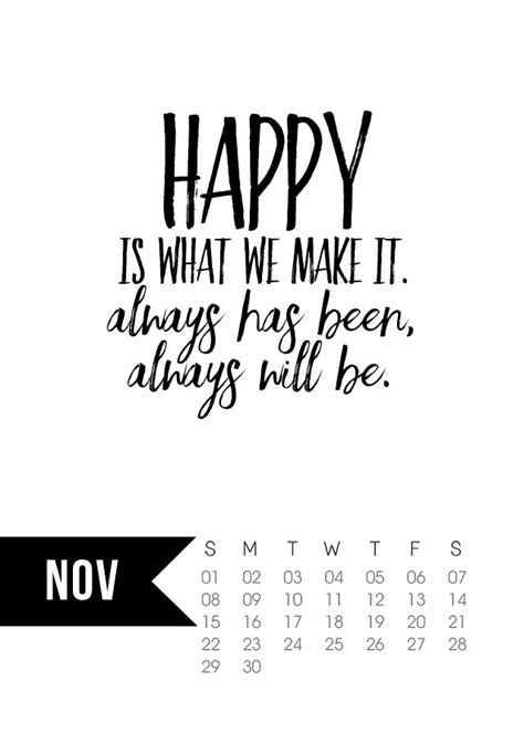 printable calendar quotes november 2015 calendar printable live laugh rowe