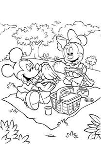 free printable minnie mouse coloring pages kids