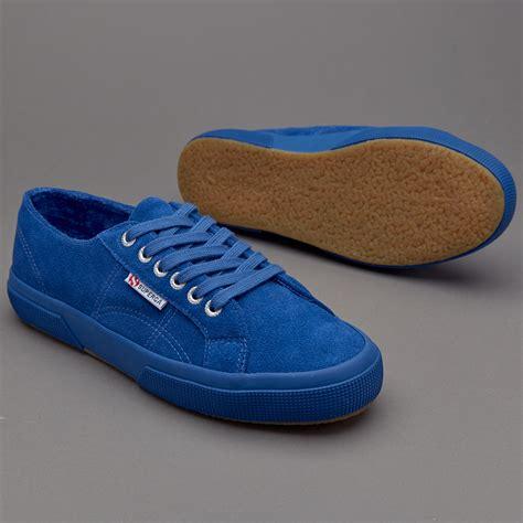 Original Superga 2750 Macramew Sepatu Unisex Shoes Blue Navy sepatu sneakers superga 2750 sueu microfleece blue marin