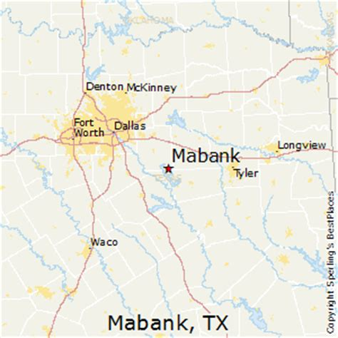 best places to live in mabank, texas