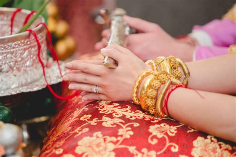 Wedding Ceremony Knot Tying by Wedding Ceremony In Cambodia Cambodia Tours