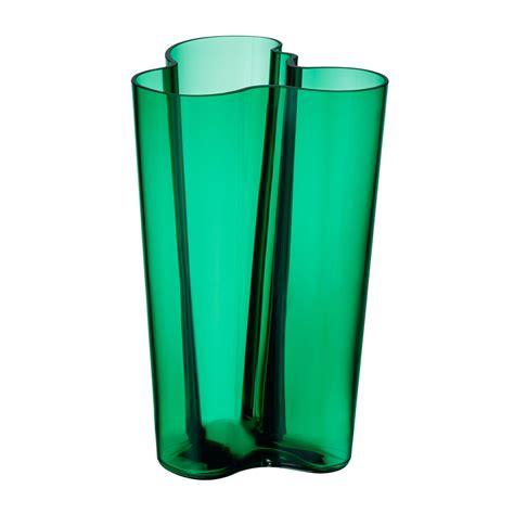 vasi alvar aalto iittala aalto finlandia emerald vase 10 quot iittala alvar