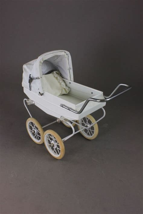 le 4 landau dolls baby buggy 11 1 2 quot l x 10 quot h made by quot doucet quot in