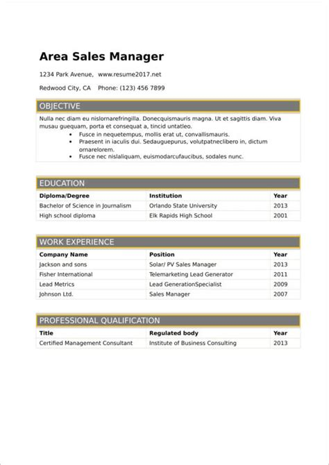 What Is The Best Font To Use For Resumes by Ideal Font Size For Resume 28 Images 10 Modern Resume
