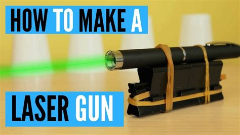 How To Make A by How To Make A Laser Gun Using Office Supplies Hack