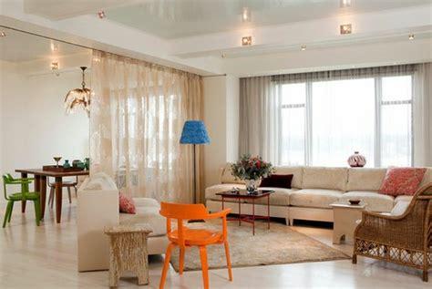 metallketten vorhang vorhang als raumtrenner verwenden kluge wohnideen