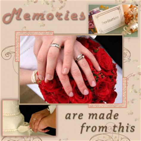 Wedding Anniversary Scrapbook Ideas by Ideas For Scrapbooking Pages Lovetoknow