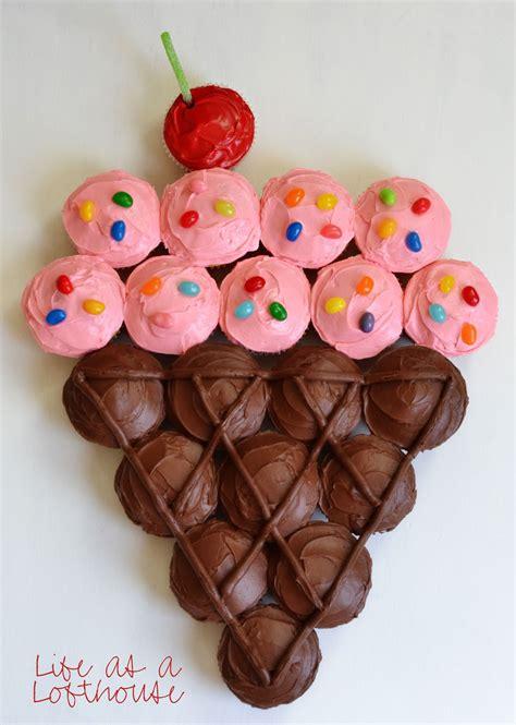 Cupcake Cakes by Cone Cupcake Cake