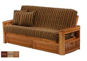 wooden futon chairs corfu wood futon frame