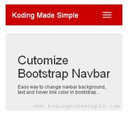 bootstrap change navbar color change bootstrap navbar color text and hover color