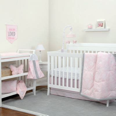 Nojo 8 Pc Crib Bedding Set Jcpenney Jcpenney Baby Bedding Sets