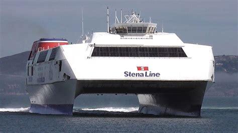 largest catamaran ferry world s largest fast ferry hss 1500 class stena explorer