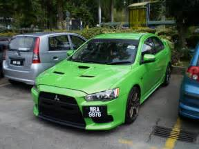 Mitsubishi Lancer Evo Kit Modified Cars Mitsubishi Evo X Custom Kit