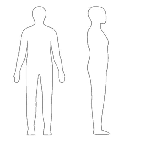 human outline cliparts co
