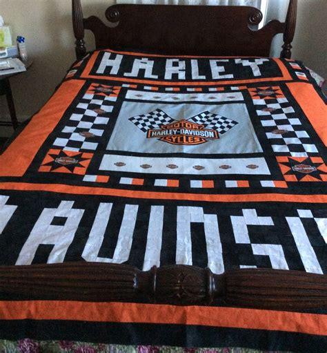 Harley Davidson 6089 26 best harley davidson quilts images on