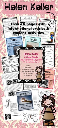 helen keller biography for third grade my daughter s third grade biography bottle buddy book