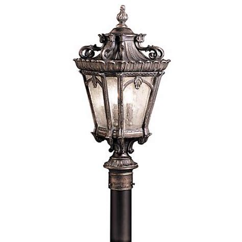 Kichler Tournai Collection 27 Quot High Outdoor Post Light Kichler Outdoor Lighting Catalog