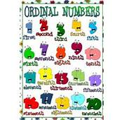 English Worksheets Ordinal Numbers Page 2