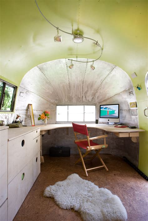 Office Space Trailer 27 Amazing Rv Travel Trailer Remodels You Need To See