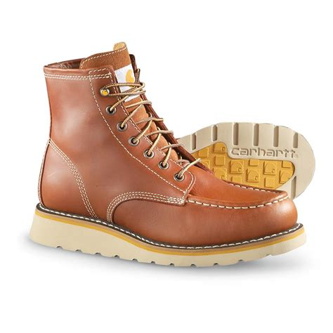 soft toe work boots for s carhartt wedge unlined soft toe work boots