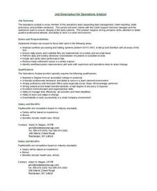 Duties Of Business Analyst by Sle Business Analyst Description 7 Exles In Pdf