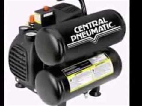 central pneumatic air compressor give power to air tools with central pneumatic air compressor