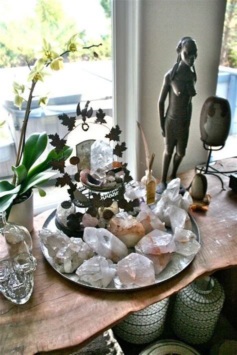 crystal decor for home best 25 meditation altar ideas that you will like on