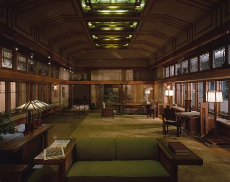 frank lloyd wright home interiors graphics library roland parker