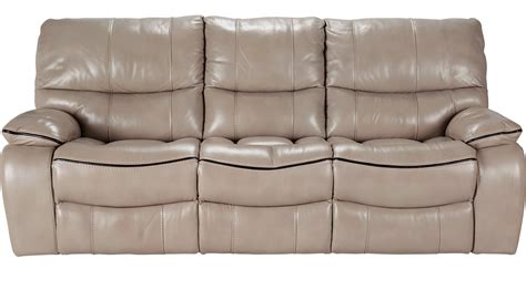 cindy crawford recliner sofa 1 155 00 gianna mushroom dusty brown leather