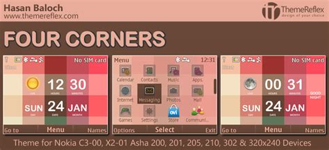 live themes for asha 200 nokia c3 themes themereflex