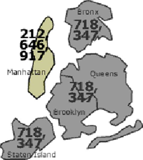 what us area code is 347 bronx staten island 718 347 overlay plan