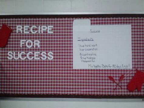 cooking board my cooking themed bulletin board bulletin boards pinterest