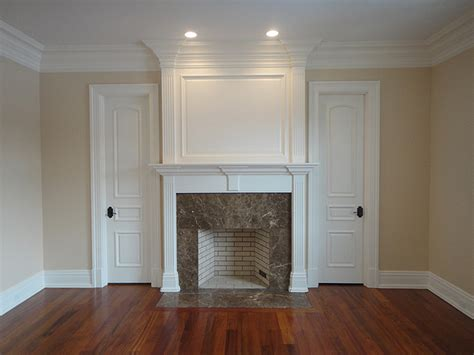 high mount carpentry fireplace mantels