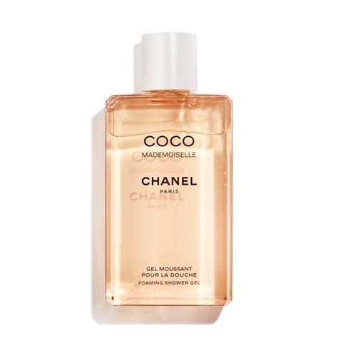 Chanel Coco Mademoiselle coco mademoiselle foaming shower gel fragrance chanel