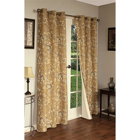 thermalogic drapes thermalogic weathermate hanover floral curtains 160x84
