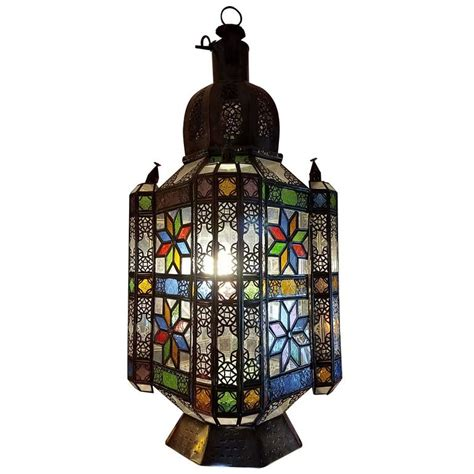 Moroccan Lantern L by Moroccan Glass Lantern The For Sale At 1stdibs